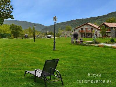 TURISMO VERDE HUESCA. Casas La Ribera de Escalona